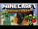 Майнкрафт: Тропические похождения - #1 Я попал в рай!