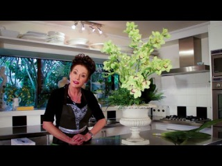 Flowers & Floristry Tutorial: Arranging with Orchids