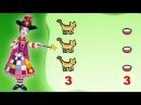 Matematică - Cantități egale: pisici si castroane cu lapte, pentru copii