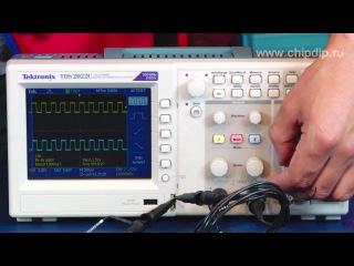 TDS2022C, Осциллограф цифровой, 2 канала x 200МГц