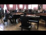 H.A. Римский-Корсаков. Полет шмеля. 8 роялей.