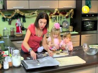Детское меню - 7 серия (Имбирное печенье,Детский салат оливье,Банановый коктейль)