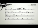 Blue Bossa/Kenny Dorham. Dexter Gordons Bb Solo Transcription.Transcribed by Carles Margarit