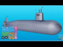 SUBMARINE: Videos for kids. Preschool Kindergarten learning.