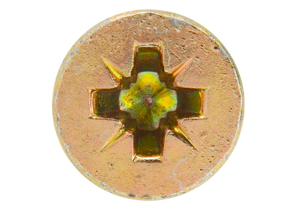 Дюбель-гвоздь полипропиленовый с цилиндрическим бортиком, 2шт   ШУРУПЬ