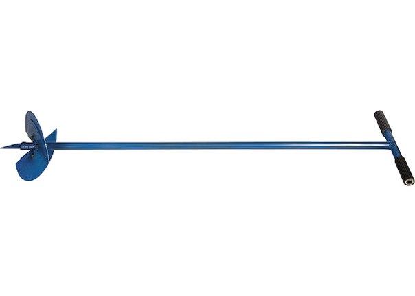Бур садовый, L 1000 мм, со сменными ножами, D 150 мм, D 200 мм   СИБРТЕХ