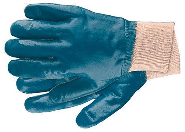Перчатки рабочие из трикотажа с нитриловым обливом   СИБРТЕХ
