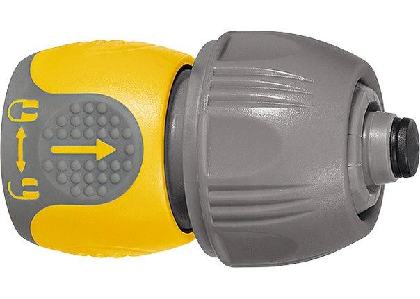 Соединитель для шланга универсальный, аквастоп, двухкомпонентный    PALISAD