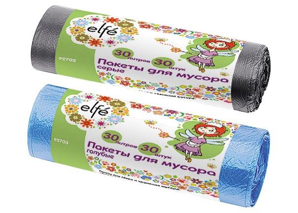 Пакеты для мусора   Elfe