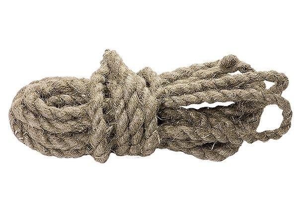 Веревка льнопеньковая, крученая   РОССИЯ
