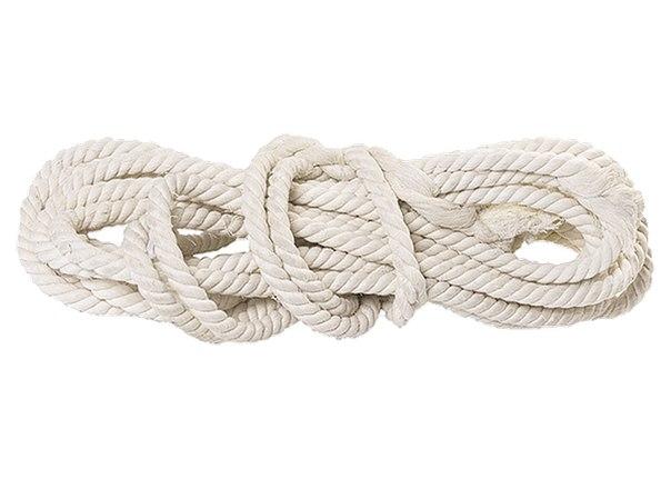 Веревка х/б, L 11 м, крученая   РОССИЯ