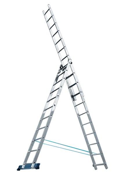 Лестница, алюминиевая, трехсекционная   РОССИЯ