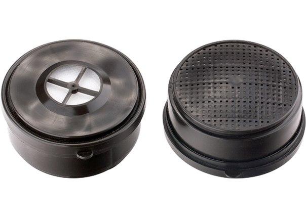 Фильтр комбинированный к респиратору ИСТОК-400 (РУ-60М), 2 шт.   СИБРТЕХ