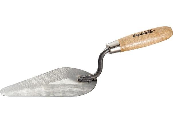 Кельма бетонщика стальная, деревянная ручка   SPARTA