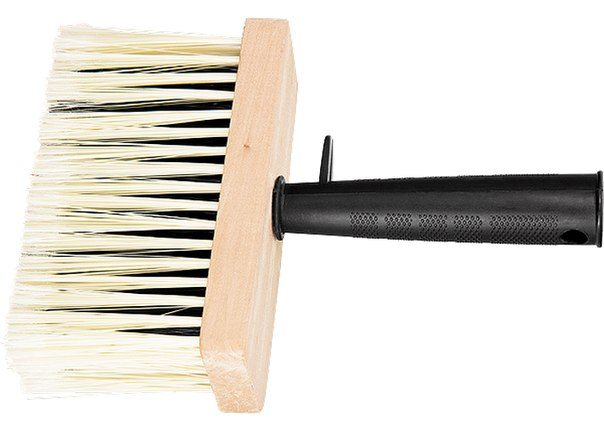 Кисть макловица, искусственная щетина, деревянный корпус, пластмассовая ручка   MATRIX