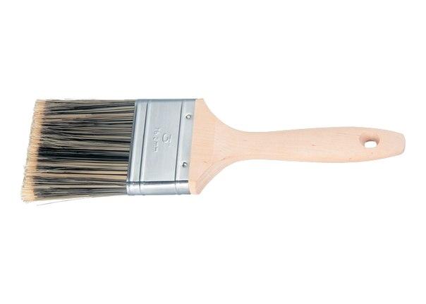 Кисть плоская Golden, искусственная щетина, деревянная ручка / Matrix   MATRIX