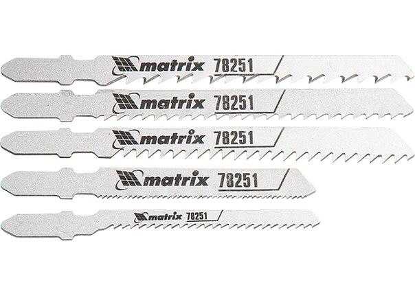 Набор полотен для электролобзика универсальный, 5шт.    MATRIX