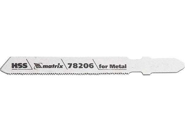 Полотна для электролобзика по металлу, HSS   MATRIX