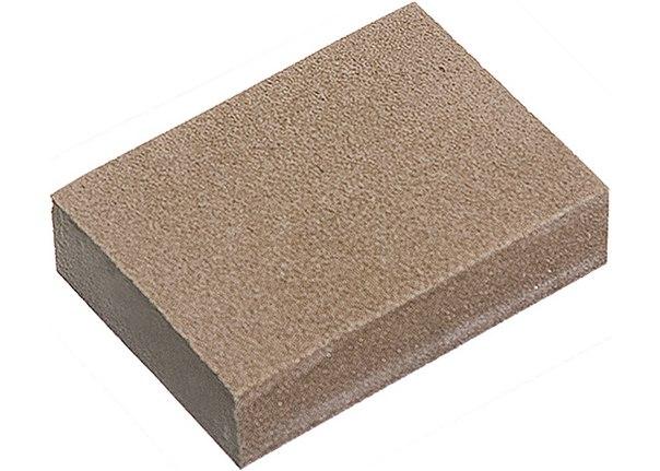 Губка для шлифования, 3 шт., P 60/80, P 60/100, P 80/120   MATRIX