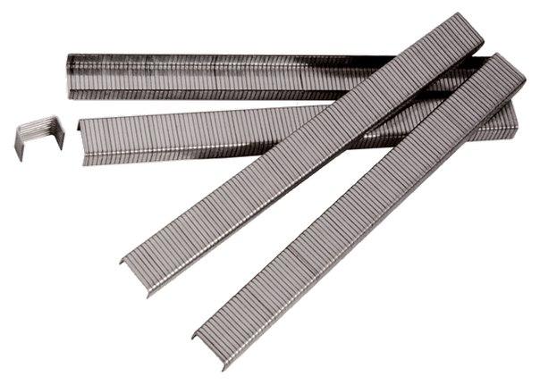 Скобы для пнев. степл., шир. - 1,2 мм, тол. - 0,6 мм, шир. скобы - 11,2 мм, 5000 шт   MATRIX