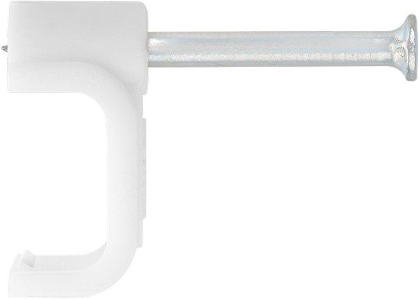 Скобы электроустановочные, прямоугольный профиль   СИБРТЕХ