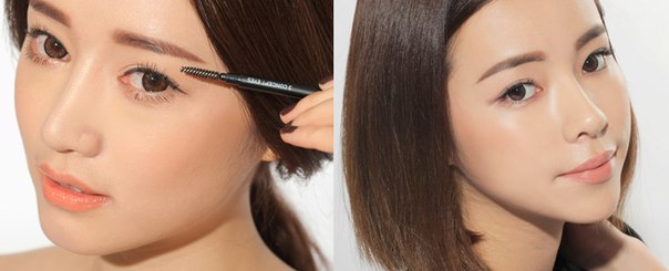 Как карандаш для бровей сделать твердым