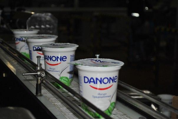 Запуск новой линии на заводе МК «Самаралакто» Группы компаний Danone в России