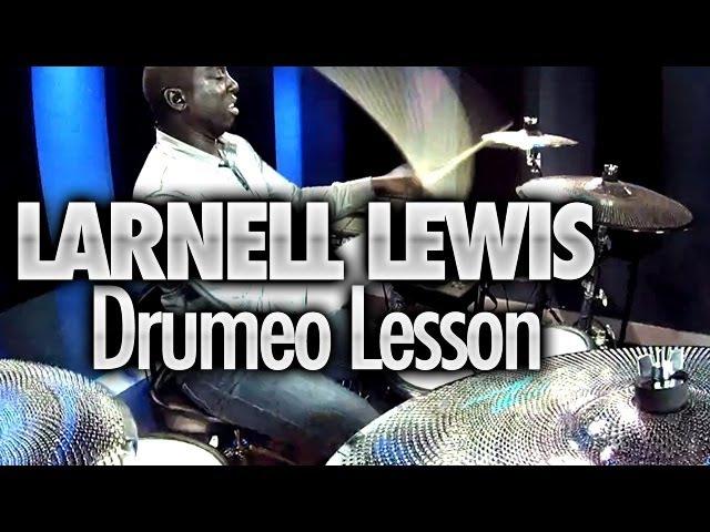 Larnell Lewis At Drumeo (Yamaha DTX 950K Drums Zildjian Gen16 Cymbals) - DRUMEO