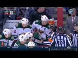Landeskog Punches Koivu From the Bench (2/28/15)