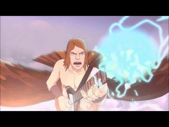 Металлопокалипсис: The Doomstar Requiem - Toki vs Skwisgaar Guitar Duel