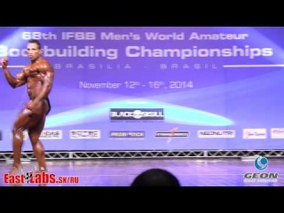 2014 IFBB World Bodybuilding Championships up to 85kg FINAL GEON