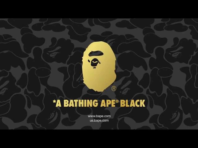 A BATHING APE® BLACK behind the scenes movie with Travis Scott