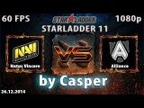 Starladder 11: NaVi vs Alliance, русские комментаторы, 26.12.2014