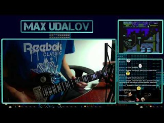 Robocop 3 - Title Screen (NES) Guitar Cover Stream Version