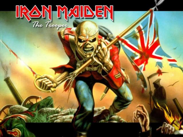 Iron Maiden - The Trooper (На Русском - Крылья)