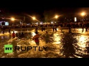 Armenia Kanye West jumps into LAKE during free concert in Yerevan