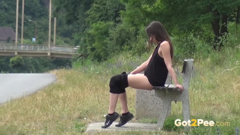 Porn: Outdoor pissing compilation with sexy girls
