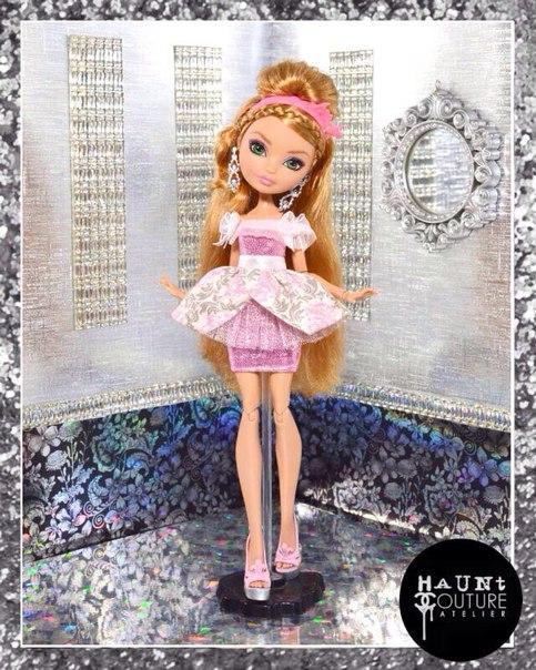 Как сшить юбку для кукол эвер афтер хай 100