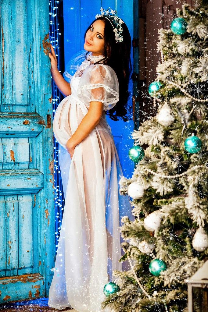 Платье на фотосессию для беременных