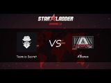 Team is Secret vs Alliance | Starladder Season XI, Групповой этап, Европа