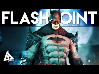 Batman Arkham Knight Flashpoint Skin (Seasonpass DLC)