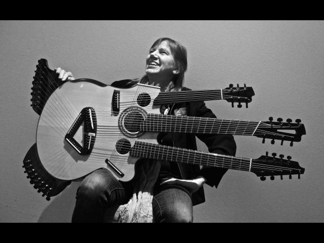 Linda Manzer / Medusa Guitar / Holy Grail Guitar Show / VintageandRare.com