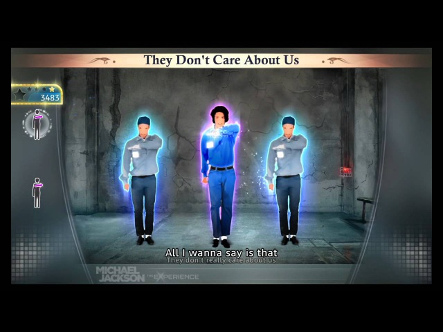 Michael Jackson The Experience They Don't Care About Us (PS3) (HD)