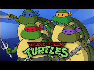 TMNT Turtles In Time Lore In A Minute (Rus Dub)