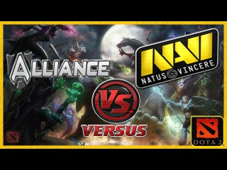Лучшая Игра Чемпионата Dota 2 2013 Na`Vi vs. Alliance #5 (Решающий Поединок) International 2013 #ti3