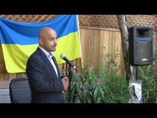 Мустафа Найем рассказывает о себе, о ситуации сложившийся в Украине