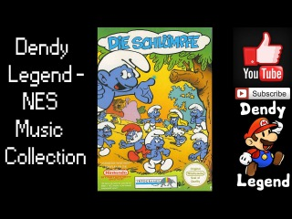 Die Schlümpfe NES Music Song Soundtrack - Act 03 & 10 The Swamps & Gargamel Manor House [HQ]