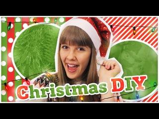 ✵НОВОГОДНИЙ DIY✵ Рождественский Венок и Новогодняя Свеча❊