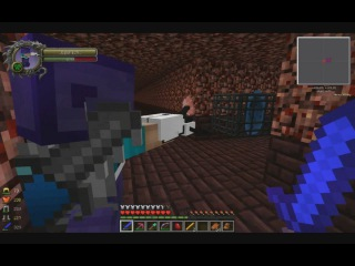Minecraft - Неизведанный мир - 6 - 38000 мяса зомби, новые измерения и portal пушка