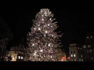 История страсбургской рождественской ели